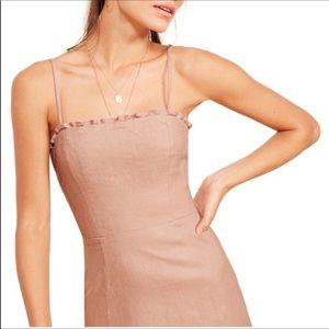 NWOT Reformation  'Ava' Linen Dress